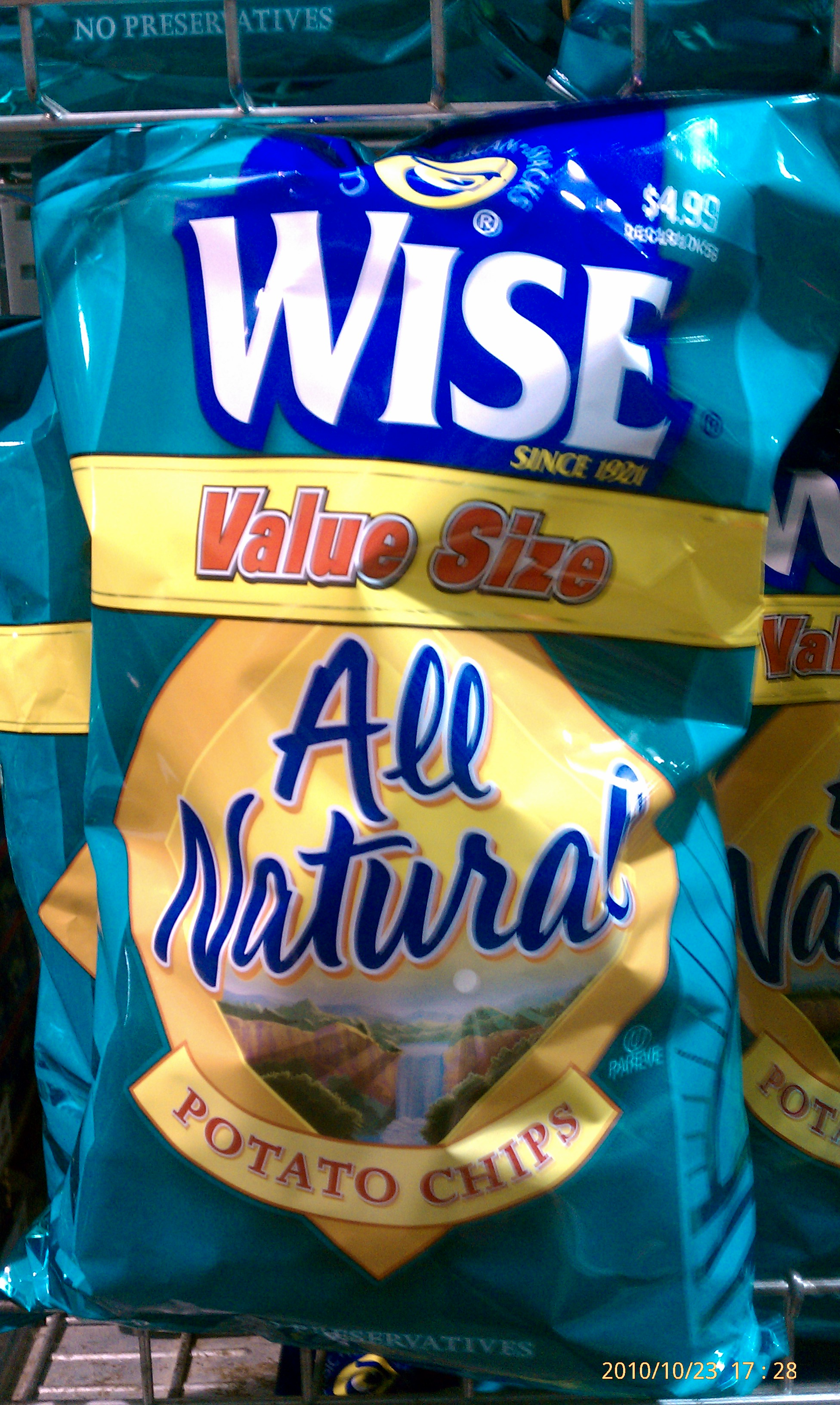 New york deli s wise potato chips order page